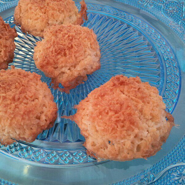 Laktosfria vanilj-kokostoppar från Sju sorters kakor