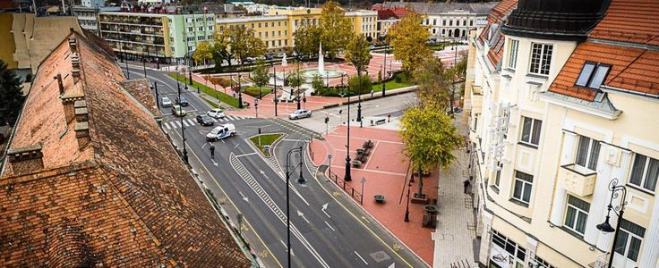Nagykanizsa, Erzsébet tér