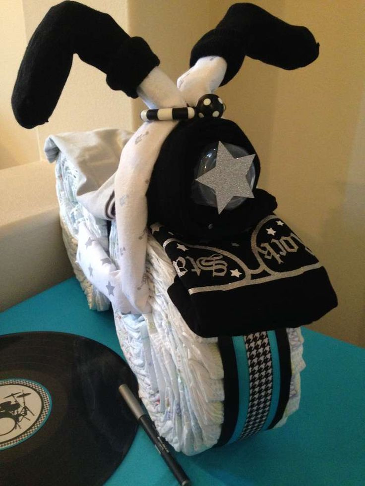Rock Star Baby Shower Party Ideas | Photo 7 of 20 | Catch My Party