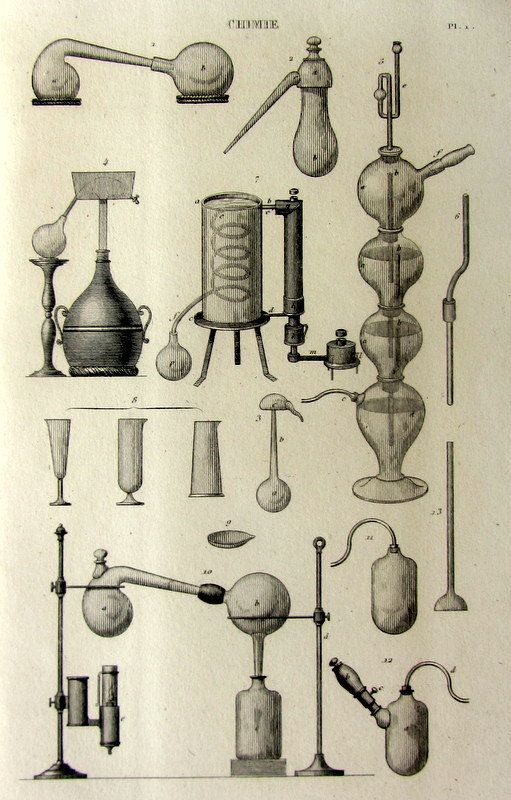 scientific apparatus shapes for inspiration