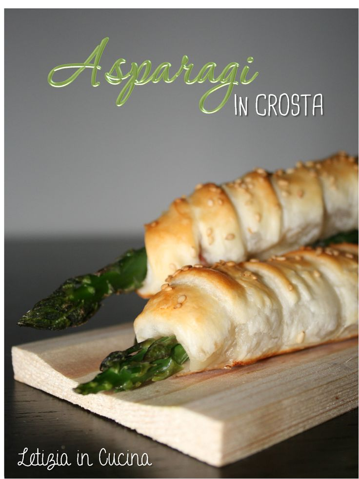 Asparagi in crosta