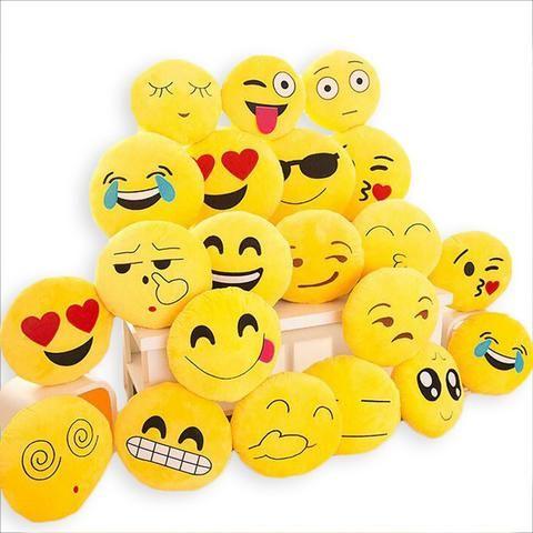 *24 Styles*  Large Emoji Pillows