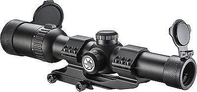 ﹩180.00. Barska 1-6x24 IR AR6 Tactical Riflescope with Reticle AC12390    Max. Magnification - 6x, Model - AC12390