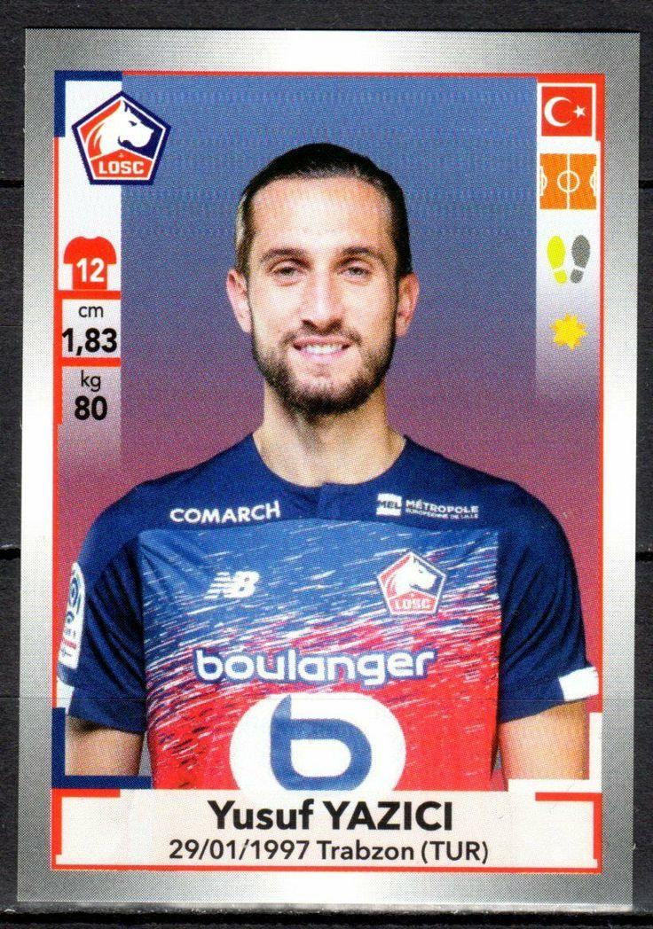 Sticker PANINI FOOT 20192020 Ligue 1 et 2 154 Yusuf
