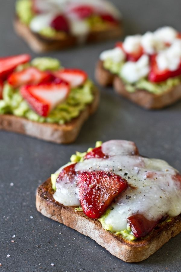 10 recipes for spring - salt + strawberry avocado + goat cheese sandwich // edible perspective