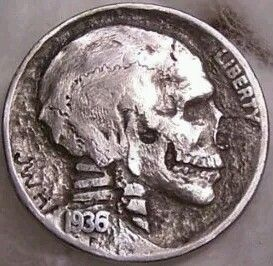 Hobo Nickels from the early 1900's