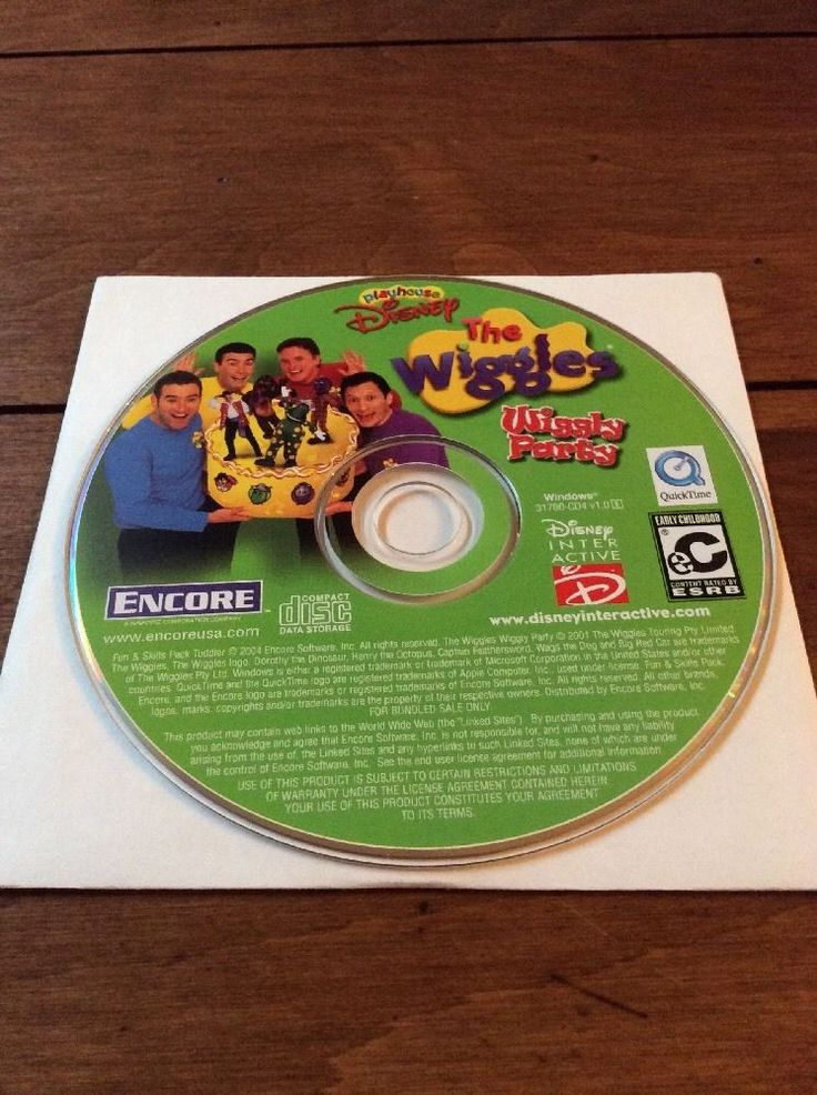Details about The Wiggles Wiggly Party PC Perfect