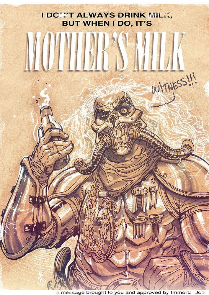 Immortan Joe by Chuckdee.deviantart.com on @DeviantArt