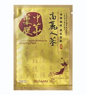 Chinese Traditional Medicine Sleeping Pack Korea Ginseng