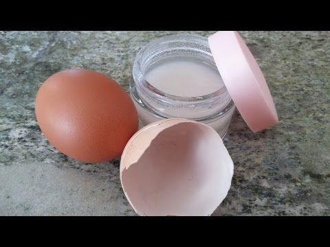 Rejuvenecer Colágeno y ácido hialurónico, casero, en membranas de huevo - YouTube