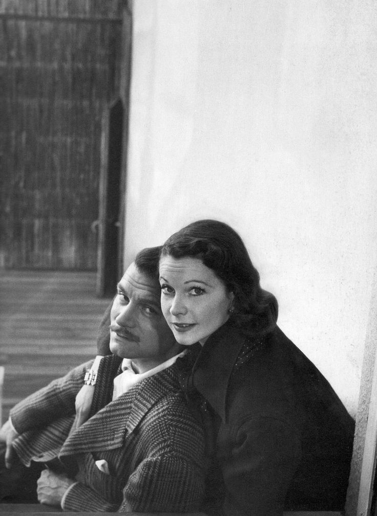 Power Couple. Laurence Olivier and Vivien Leigh.