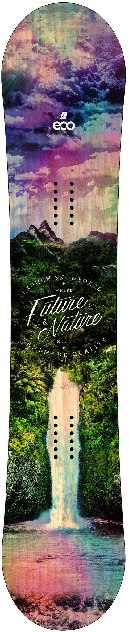 2016 Launch Eco Snowboard Topsheet