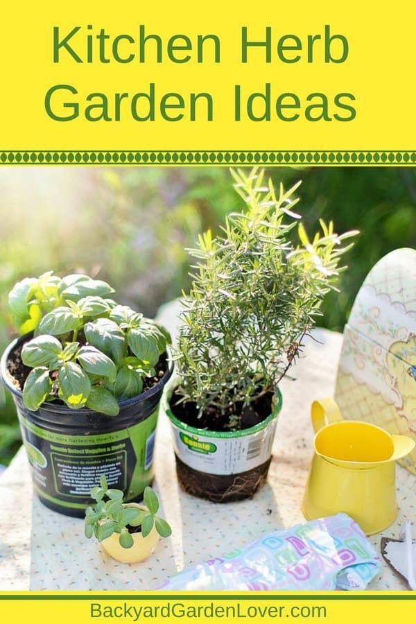 Kitchen Herb Garden Ideas You Ll Love Container 400 x 300