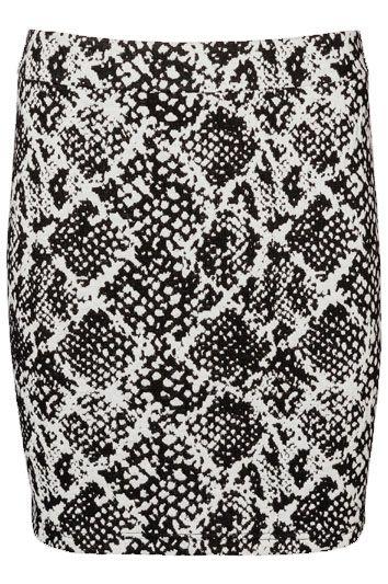 Snake Print Skirt - Holiday Countdown #PINtoWIN