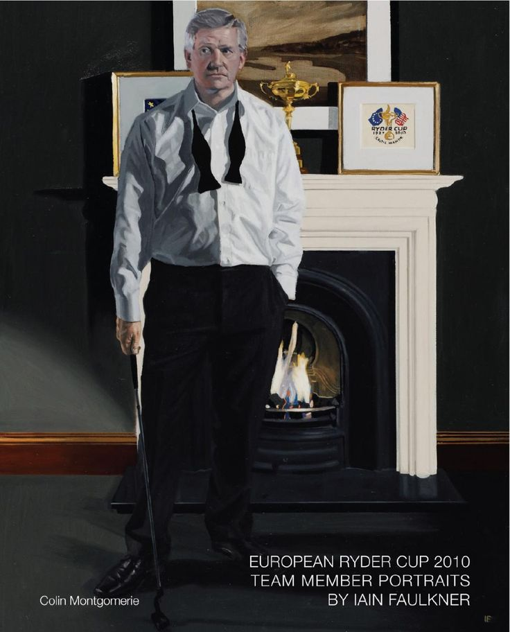 The European Ryder Cup Team Member Portraits by Iain Faulkner