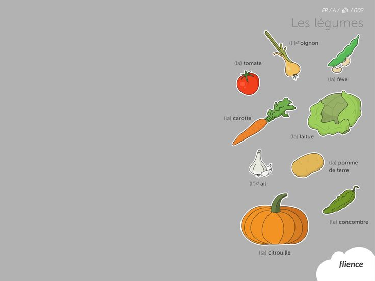 Food-vegetables_002_fr #ScreenFly #flience #french #education #wallpaper #language
