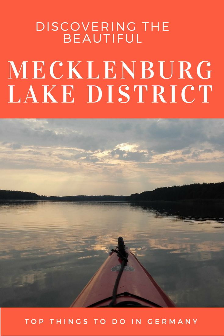 A great local getaway destination in Germany! Beautiful lakes and natural surroundings make a trip to the Mecklenburg Lake District a great adventure.