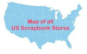 Scrapbook Stores Map & List