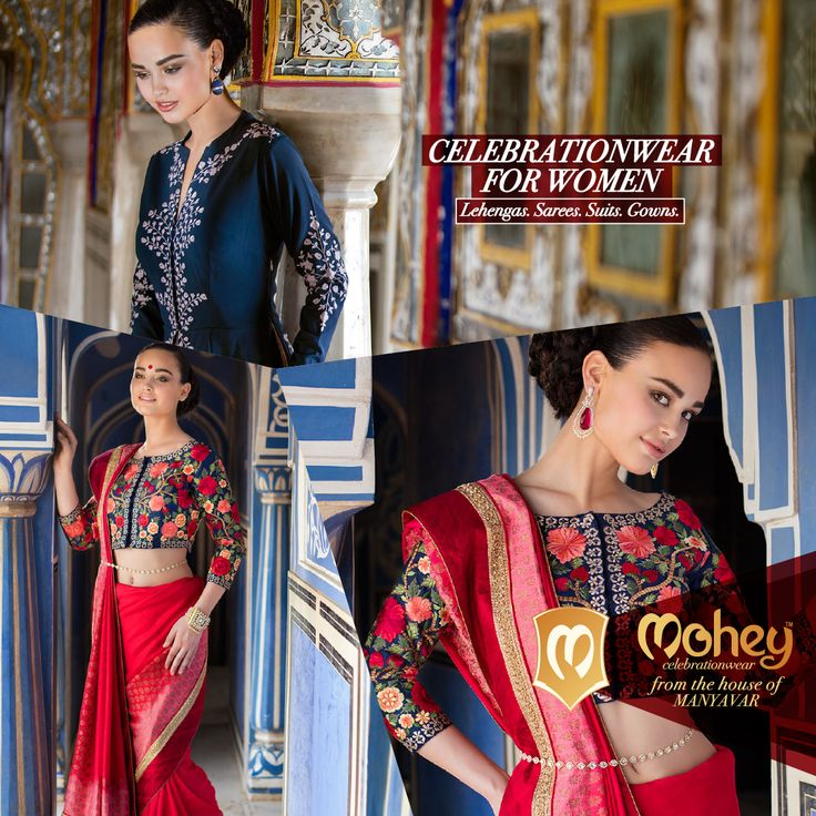 Calling all Brides, Bridesmaids, Die-Hard-Friends, Far and Near Cousins for a select spread of Gowns, Lehengas and Sarees from Manyavar.