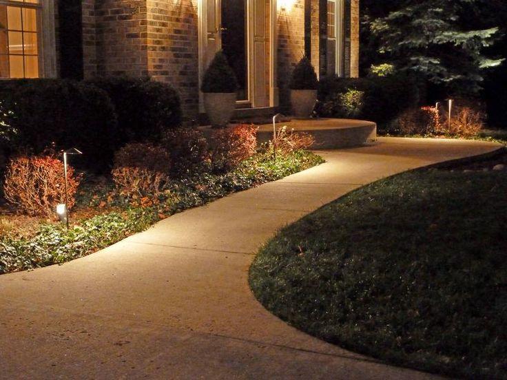 23 best images about our home front walk landing on for Premier landscape design