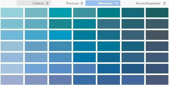 25+ melhores ideias sobre Paleta de cores azul no ...