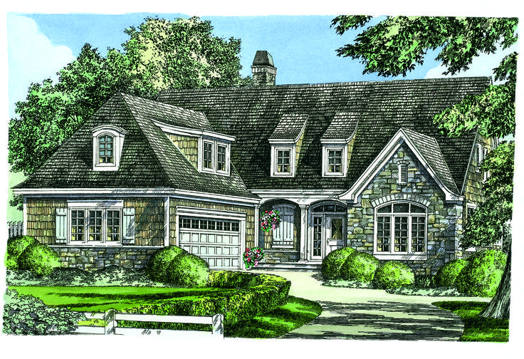 Now Available New European Cottage Design 1342