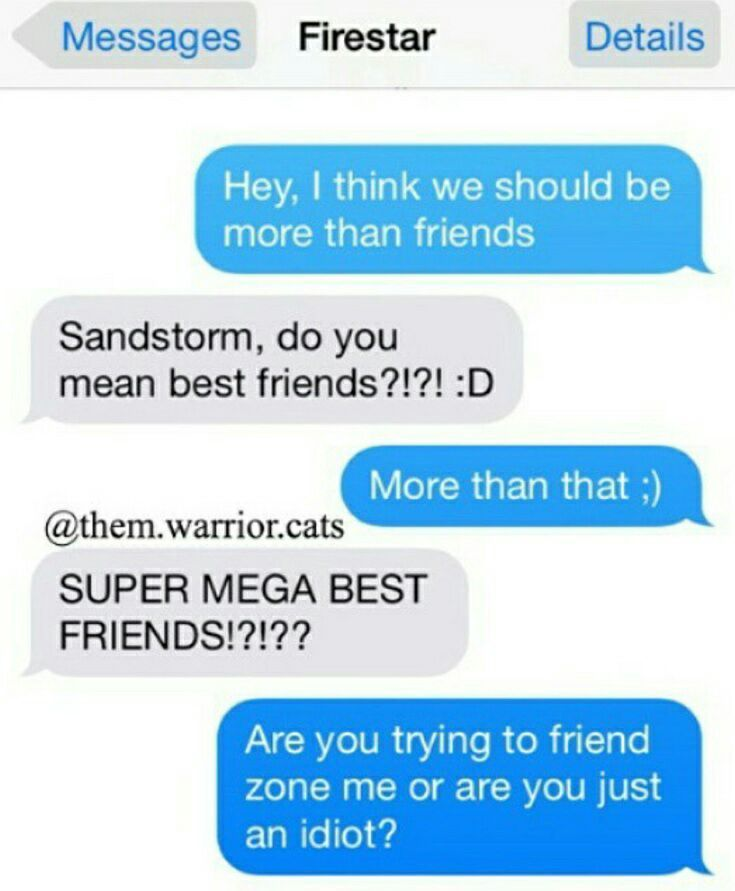 Funny conversation between two friends in english
