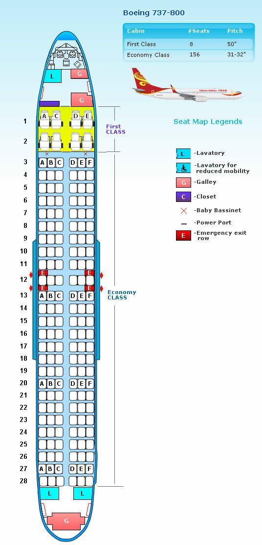 737 - 800 Seating