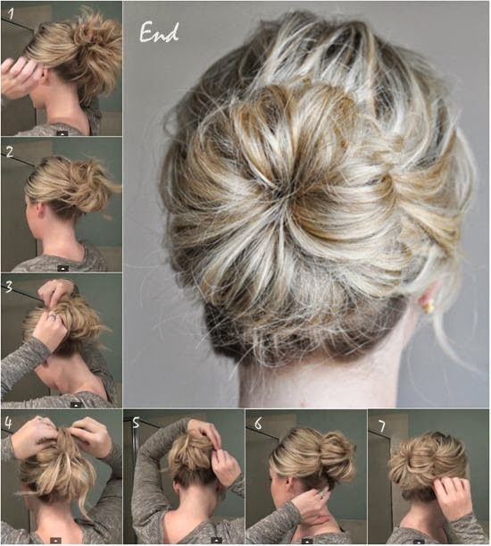 coiffures simples ,rapides et pratiques