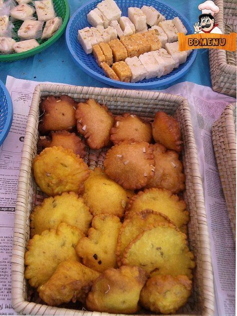 Bangladeshi Pitha - There are more than 200 types pitha made with rice flour, jaggery, coconut & kheer.
