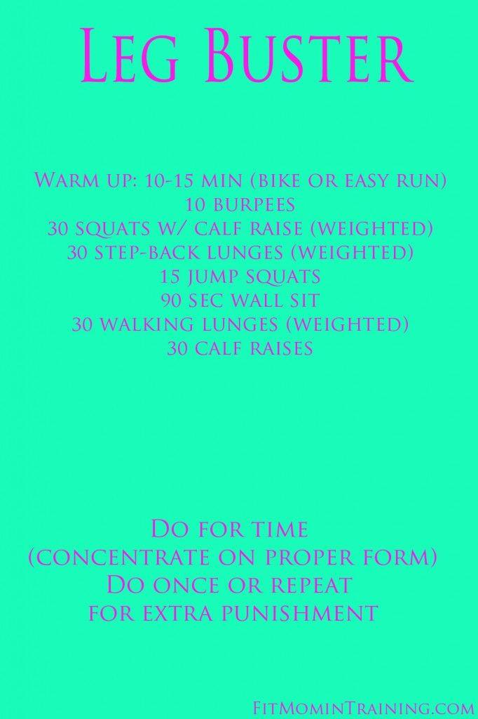 Killer Leg Workout via@fitmomtraining #fitfluential #sweatpink #mamavation