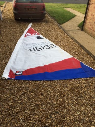 Genuine #topper 4.2 sail for #dinghy/ boat in vgc sailing not #laser rs,  View more on the LINK: http://www.zeppy.io/product/gb/2/132060429778/
