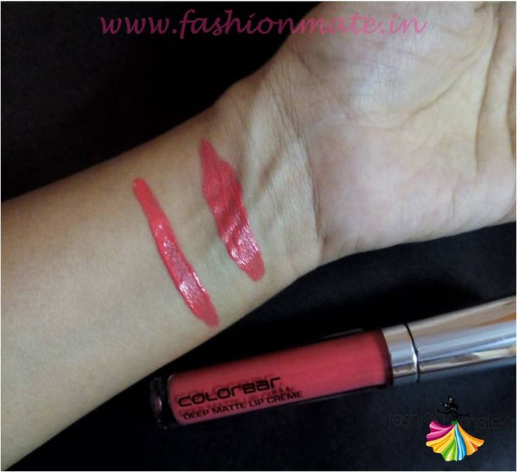 Colourbar deep blush lip creame review and swatches beauty blog
