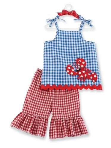 Mud Pie Boathouse Baby Lobster Tunic And Flare PantFlare Pants, Kids Stuff, Pies Boathouse, Baby Girls, Boathouse Baby, Baby Lobsters, Baby Clothing, Mud Pies, Baby Stuff