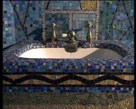 mosaique salle de bain odorico ideas for the bathroom. Black Bedroom Furniture Sets. Home Design Ideas