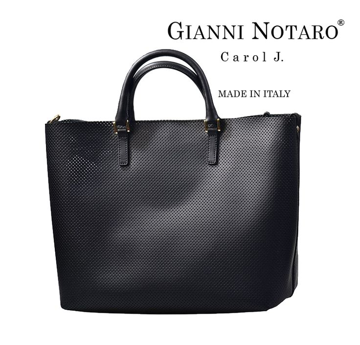 """Black is eternal and chic! Your perfect piece of """"jewel"""" is in your hand with the new handbag collection by Gianni Notaro! Get yours now in Galleria Di Scarpe"""