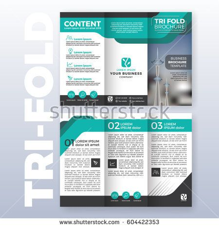 Best  Tri Fold Brochure Template Ideas On   Tri Fold