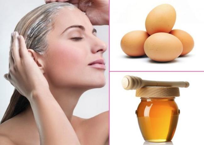 - 2 Eggs  - ½ Cup Yogurt  - ½ Cup Honey  - ½ Cup Olive Oil  - Warm towel