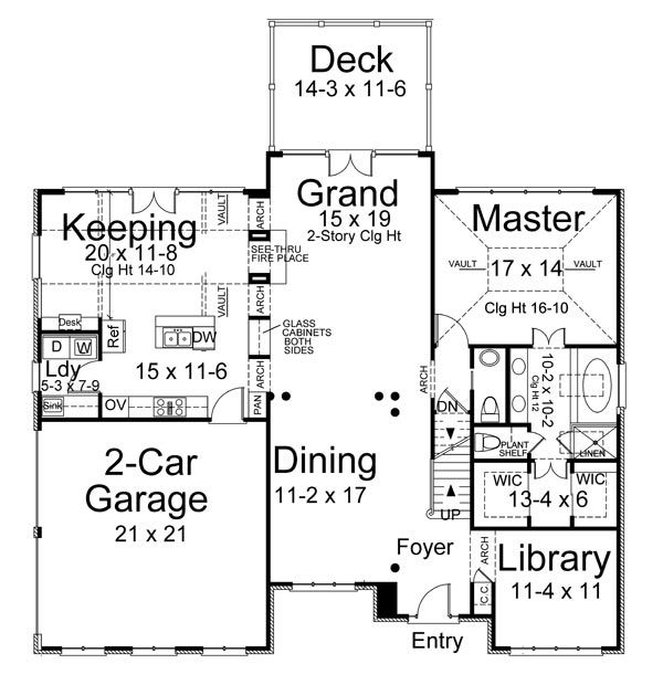 17 best Colonial House Plans images on Pinterest | Colonial house ...