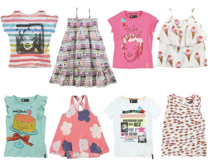 Pepe Jeans - graphic andy warhol girl tee shirt spring summer collection 2013