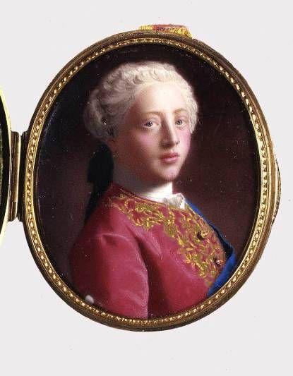 Portret van de Engelse Koning George III