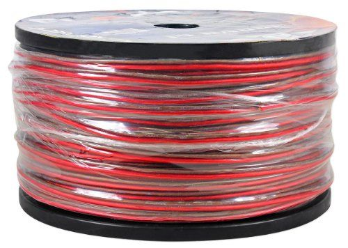 Cadence 14G152M-Red/Blk 14 Gauge 40 Foot Red/Black Speaker Wire Spool Designed for Show Car Performance *Cut from a 500 foot spool*. Color: Red and Black. Model: 14G152M-Red/Blk. Designed for Show Car Performance. Gauge: 14 Gauge. Wire Length: 40ft. Stranding: 72x0.15mm x 2C .72 Strands of 0.15mm Wire per Wire. Delivers Impressive Clarity, Bass Response, and Dynamic Range. Braided Super-Flex Design Ensures Optimum Surface Area and Flexibility. Eliminated Unwanted Noises and...