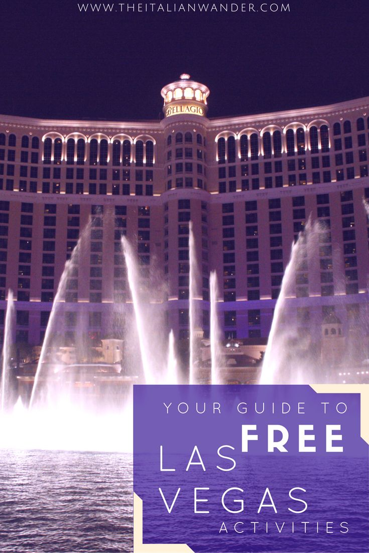 Discover all the free activities you can do in Las Vegas