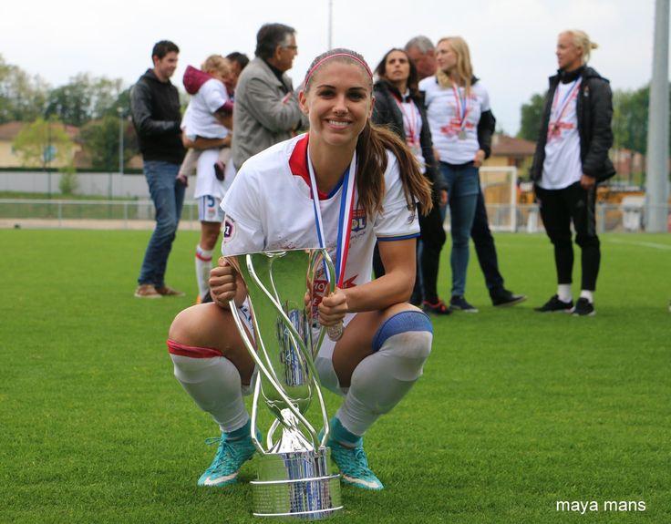 Alex Morgan || Olympique Lyonnais -  Championnes de France D1F (May 8, 2017)
