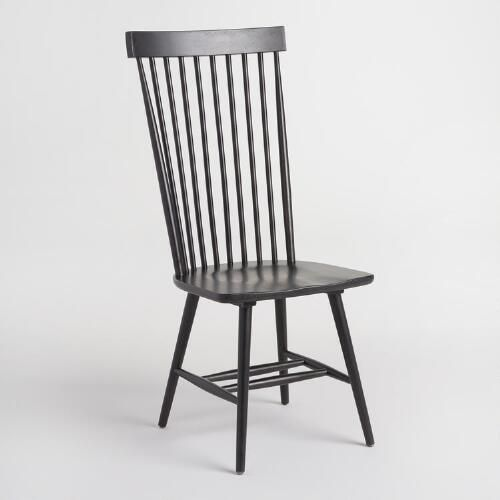 A Tall Take On Traditional Windsor Chairs, Our Slender Chairs Feature A  High Cap