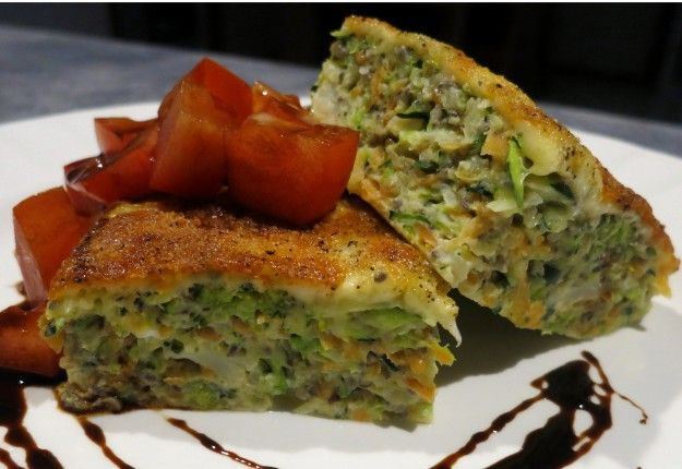Healthy vegetable slice - Real Recipes from Mums