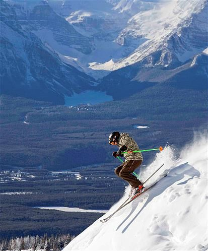 I want to go skiing in Canada and Alaska-Bucket List
