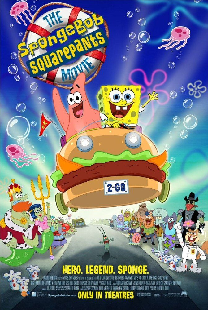 Directed by Stephen Hillenburg, Mark Osborne.  With Jeffrey Tambor, Rodger Bumpass, Carolyn Lawrence, Clancy Brown. SpongeBob SquarePants takes leave from the town of Bikini Bottom in order to track down King Neptune's stolen crown.