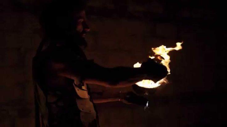 Il Drago Bianco Promo - Spettacolo con il Fuoco - Fire Show