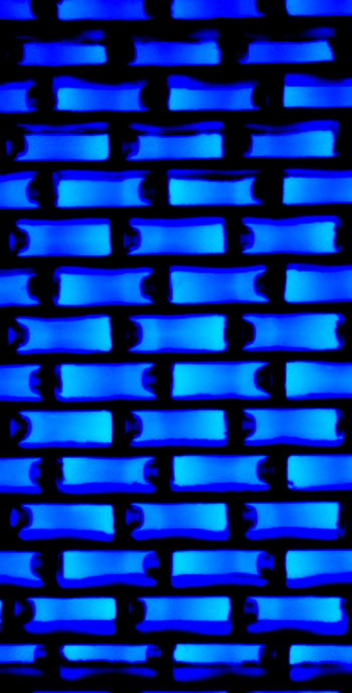 Blue Neon Blocks Wallpaper Blue Wallpapers Blue